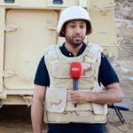 انقلاب مركبة طاقم MBC على طريق الرياض الأفلاج