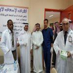 بالصور حملة تطعيم طلاب وطالبات الصفوف الأولى بالأفلاج