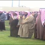 جموع غفيرة تنهي قضية قصاص من مواطن قتل قريبة بمحافظة الخرج