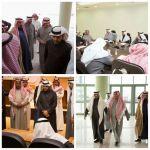 المشرف العام على كليات الجامعة يستقبل اللجان المنظمة لاستقبال أمير الرياض