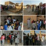 زيارة أعضاء نادي مدرسة الحي لقرية  العمار التراثية