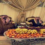 بالصور.. أمير الرياض يزور قبيلة العجالين في الأفلاج