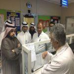 مدير عام صحة الرياض الدكتور ناصر بن فالح الدوسري يقوم بجولة في مستشفى الأفلاج العام