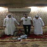بالصور : الرحاله فهد اليحيى في زيارة لمركز النايفية بالأفلاج