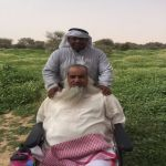 بالصور.. رحلة برية لنزلاء مستشفى النقاهة في روضة خريم