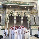 طلاب ثانوية الملك عبدالله في زيارة لعدة جهات بمكة