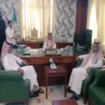محافظ الأفلاج يستقبل رئيس بلدية الأفلاج الجديد