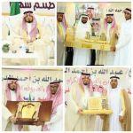 أبناء الشيخ عبد الله الدريهم يُكرّمون شقيقهم سعد بمناسبة حصوله على الدكتوراه