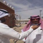 محافظ الأفلاج يدشن بداية تغيير طابع جامع المبرز للطراز التراثي وتأهيله