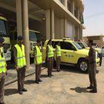 انطلاق حملة السلامة في إدارة الدفاع المدني في الأفلاج صباح اليوم