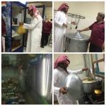 القسم الصحي ببلدية الأحمر يكثف جولاته الرقابية خلال شهر رمضان