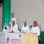 بالصور : الشاعران العثمان واللحيان يبدعان في سماء الرياض