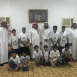 رجل الأعمال الشيخ مفلح االدرع يستقبل مدير جمعية إنسان