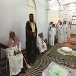 بالصور : معايدة جماعة مسجد الإمام مالك بالأفلاج