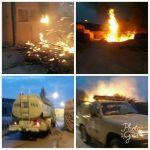 مدني ستارة يتمكن من السيطرة على حريق بمنزل شعبي