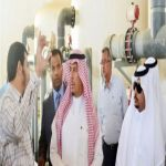 محافظ الأفلاج ومدير المياه ينجحان في إعادة ضخ محطة تحلية الأفلاج