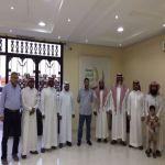 خيرية الأفلاج تستقبل وفداً من مستشفى دلة