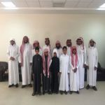 أعضاء نادي الإبداع في زيارة لمركز الدعوة والإرشاد