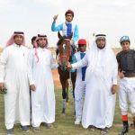 """بالصور : الحصان """"شبل زهران"""" يحصل على المركز الأول في سباق ميدان الجنادرية"""