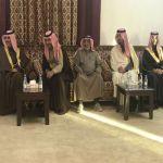 بالصور : سمو الأمير سعود بن محمد الكبير وإخوانه يصلون الأفلاج