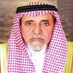 عبدالعزيز بن حزام العجالين على السرير الأبيض