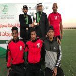 بقيادة المدرب الوطني معجب الدوسري التوباد يحقق كأس المركز الثالث في بطولة المملكة لألعاب القوى