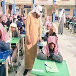مدير تعليم الأفلاج يتابع سير الاختبارات في يومها الأول