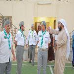 بالصور : نائب جمعية الكشافة العربية السعودية يشيد ببرامج لجنة تنمية الأفلاج