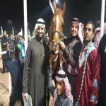 """الجواد """"زافر الخالدية"""" يحصل على المركز الثالث في سباق الخيول العربية الأصيلة"""