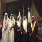 بالصور : بحضور صاحب السمو الأمير فيصل بن عبدالله الدكتور سعد الفهيد يحتفل بزواج ابنه سلطان