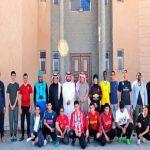 بالصور : مساعد مدير فرع العمل والتنمية بمنطقة الرياض في زيارة للأفلاج