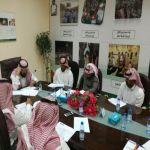 فرع إنسان الأفلاج ينظم اجتماعه الأول لعام 2018