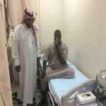 مدير مستشفى الأفلاج في جولة تفقدية على قسم الطورائ ومركز ليلى الصحي