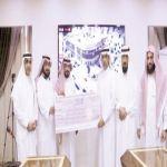 الشيخ محمد آل زنان يدعم جمعية إنسان بالأفلاج