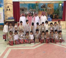بالصور : الروضة الأولى في زيارة لـ ابتدائية خالد بن الوليد