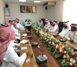 """لجنة الاستعداد بـ""""تعليم الأفلاج"""" تعقد جلستها الرابعة"""