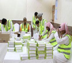 بالصور : فريق بناء التطوعي يوزع 300 وجبة إفطار على المسافرين