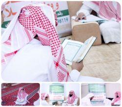 بالصور : إنطلاق الدورة الرمضانية في مكتب حلقات تحفيظ القرآن بسويدان