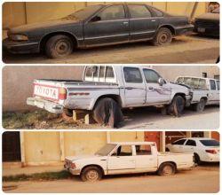 """صحيفة الأفلاج ترصد السيارات المتهالكة في شوارع  """"ليلى"""" وبلدية الأفلاج تتجاوب"""