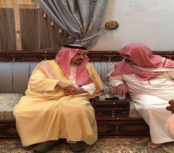 أمير الرياض يزور آل عمار لتقديم واجب العزاء في وفاة فقيدهم