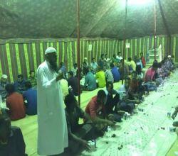 بالصور : تعاوني الأحمر يدعو أهل الخير لإكمال أسهم مشروع إفطار الصائم ودعوته