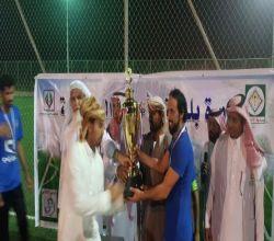 بالصور : الزعيم بطلاً لكأس بطولة بلدية الأحمر