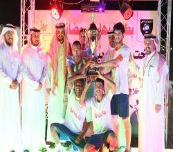 بالصور : القنرز بطلاً لبطولة جمعية بهاء بعد تغلبه على الليفر بركلات الترجيح
