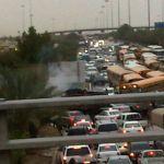 أمطار الرياض ..إيقاف الدراسة في جميع المدارس و(صحيفة الأفلاج الإلكترونية) تنشر فيديو إنقاذ سائق شاحنة ( فيديو + صور + متابعة مستمرة )