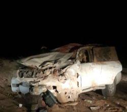 حادث طريق الأفلاج - بيشة نتج عنه 10 إصابات وحالة وفاة من عائلة واحدة