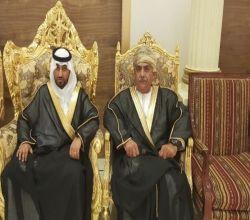 بالصور : بحضور شخصيات من عُمان عائلة الجويعي تحتفل بزواج ابنها عبدالله