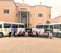 """لجنة تنمية الأفلاج تشارك بـ """"32 """"كشافاً وجوالاً لخدمة ضيوف الرحمن"""