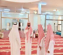 تجهيز المساجد على الطرق المؤدية لمكة والمشاعر المقدسة (صور)