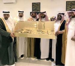 تكريم  العقيد إبراهيم بن زيد الدريهم