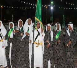 شاهد. . حفل أهالي الأفلاج باليوم الوطني 88